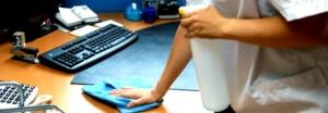 limpieza de oficinas en valencia - paño