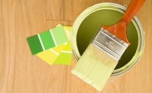 pintar local comercial - gama de verdes