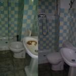 Limpieza de cuartos de baño