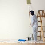 Pintar piso. La cocina