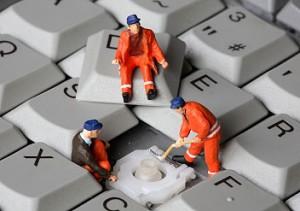 limpieza de oficinas - teclados