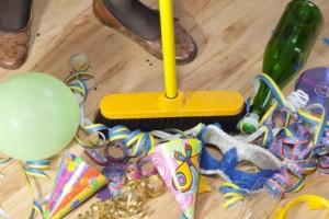 Limpieza de apartamentos - fiesta
