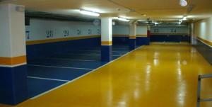 limpieza de garajes en Valencia - amarillo