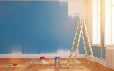 presupuesto pintura economico Valencia - pared recien pintada
