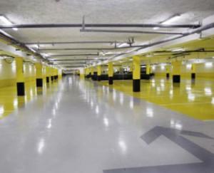 limpieza de garajes en Valencia - garaje amarillo