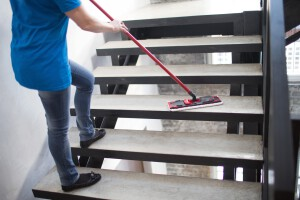 limpieza fin de obra valencia - trapeador