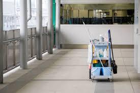 limpieza de garajes valencia - carrito de limpieza-
