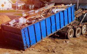limpieza de fin de obra en Valencia - escombros-